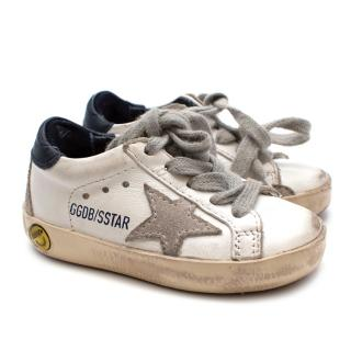 Golden Goose Children's  Super star low-rise sneakers