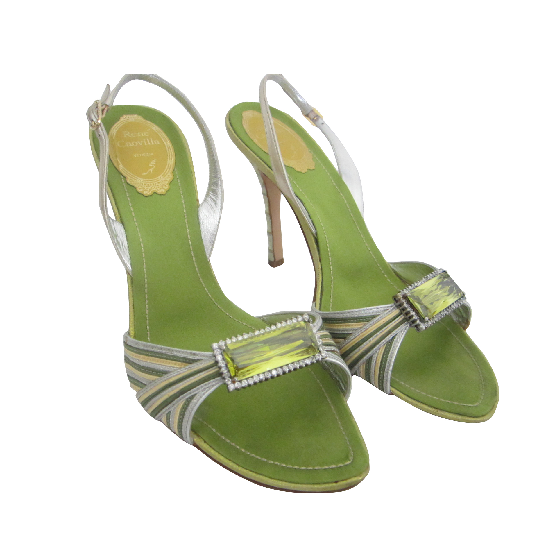 RENE CAOVILLA sandals size 39