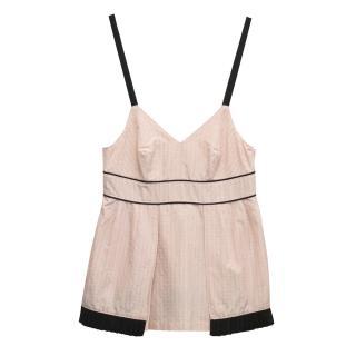 Naja Lauf pink camisole top