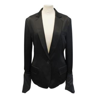 Y-3 by Yohji Yamamoto for Adidas Originals black blazer