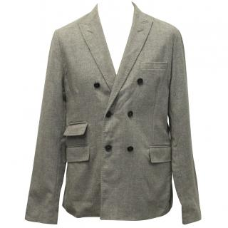 J. Lindeberg grey double breasted blazer