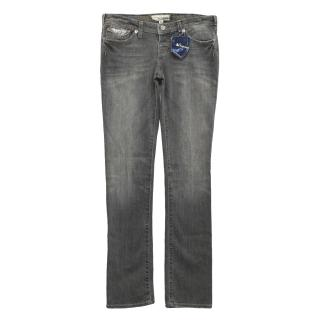 J&Company grey straight cut jeans