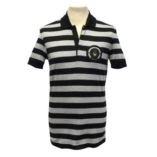 Givenchy Rottweiler striped polo t shirt