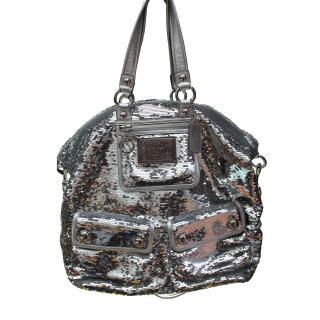 COACH XL Paillette Woman Handbag Special Edition