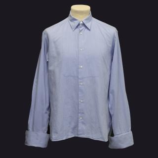 Adam Kimmel Blue Shirt