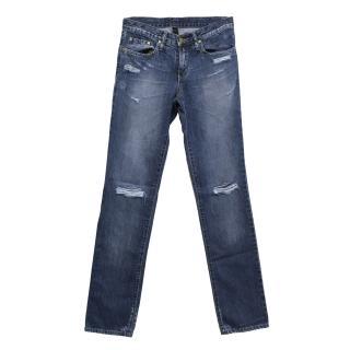 Nobody Rigid Straight distressed jeans