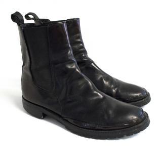 Marni Glossed Chelsea Boots