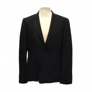 Tim Soar black tweed blazer