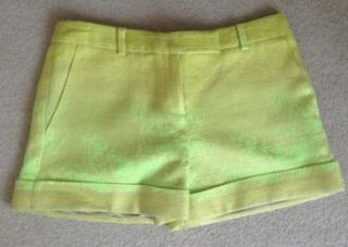 NEW Matthew Williamson lime and neon shorts