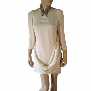 Balmain short evening dress with embellishment