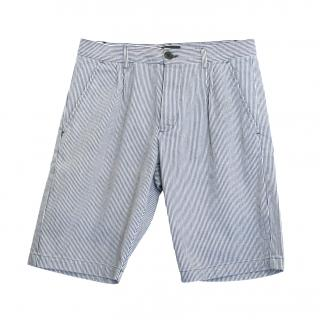 B Store striped shorts