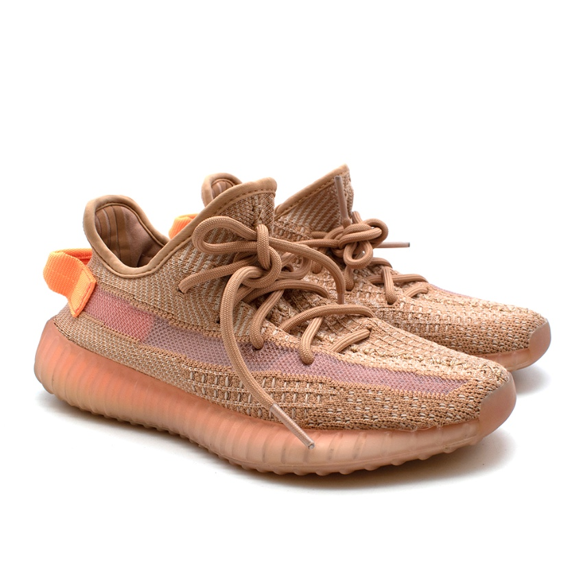 Adidas Yeezy Boost 350 V2 Sneakers in Clay
