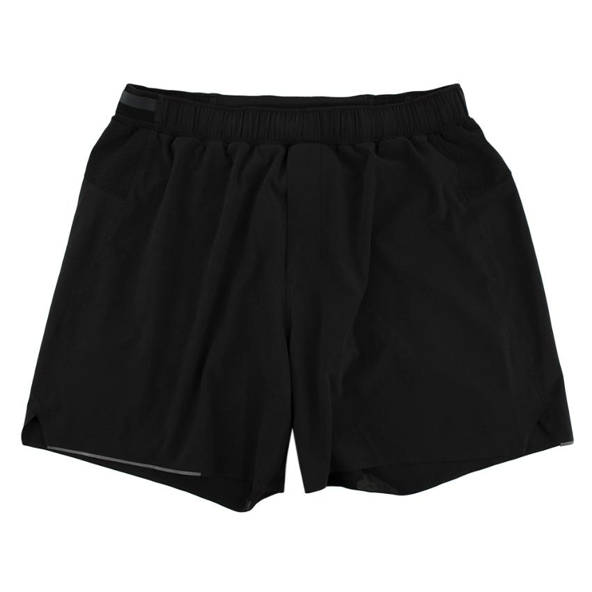 Lululemon Black Lightweight Sports Shorts