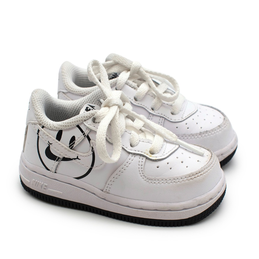 Nike White Have A Nike Day Air Force 1 Leather Trainers