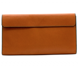 Valextra Vertical Leather Wallet