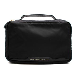 Anya Hindmarch Black Nylon & Leather Baby Emergency Kit