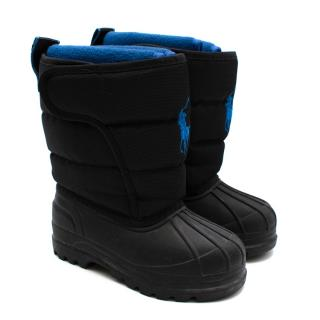 Polo Ralph Lauren Black Snow Boots