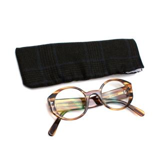 Cary Grant Tortoise Shell Round Frame Glasses