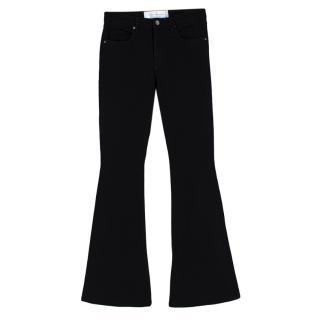 Victoria Beckham Black Denim Bellbottom Jeans