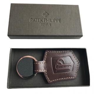 Patek Philippe Brown Leather Keyring