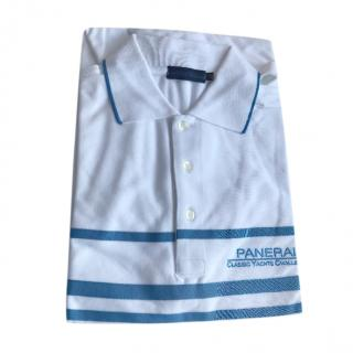 Panerai White & Blue Yachts Polo Shirt