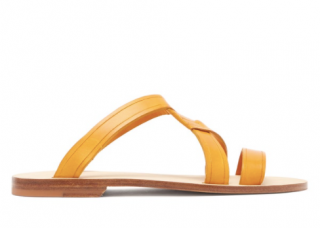 A.P.C Yael Crossover Leather Sandals