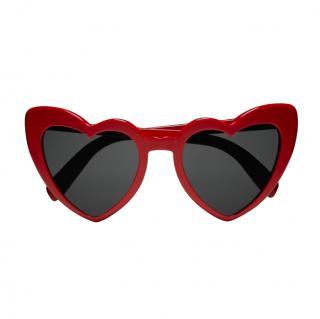 Saint Laurent Red Heart Shape SL181 LouLou Sunglasses