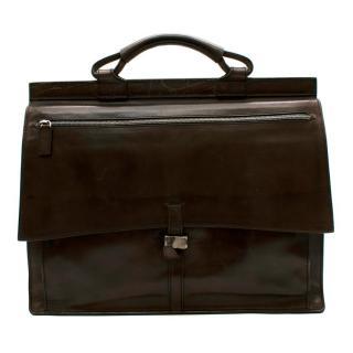 Berluti Brown Leather Men�s Briefcase