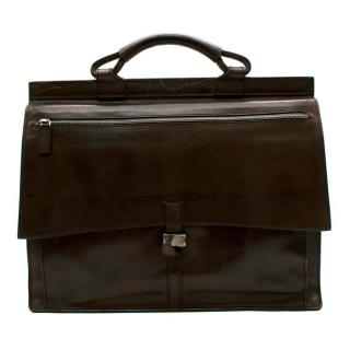 Berluti Brown Leather Men�s Briefcase