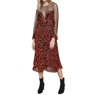 Delfi Collective Black/Red Katia Dress