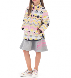 Emilio Pucci Girls Pastel Printed Jacket