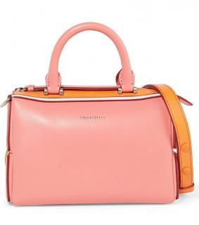 Emilio Pucci Pink/Orange Leather Tote Bag