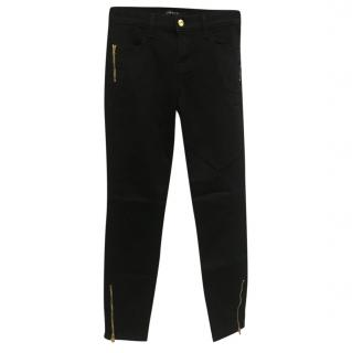 J Brand Black Slim Leg Jeans