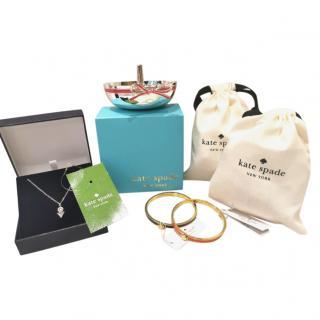 Kate Spade Jewellery Gift Set - Ring Holder, Necklace & Bracelets