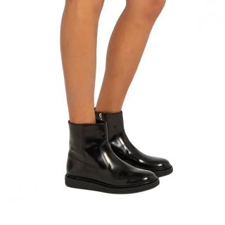 Isabel Marant Black Connor leather ankle boots