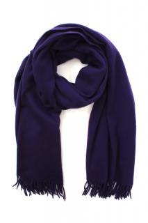 Loro Piana Purple Cashmere Scarf