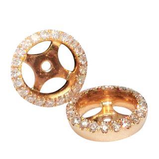 William & Son Diamond Interchangeable Halos