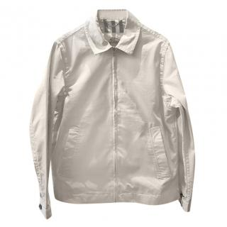 Burberry Beige Classic Bomber Jacket