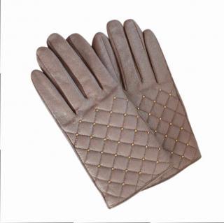 Day Birger et Mikkelsen Studded Leather Gloves