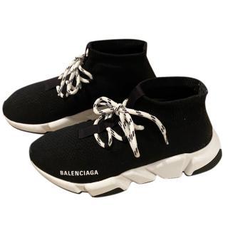 Balenciaga Black Speed Stretch Knit trainers