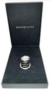 Picchiotti sterling silver signature P pendant
