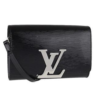 Louis Vuitton Black Epi Leather Louise Chain Shoulder Bag