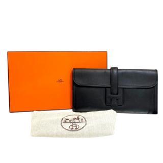 Hermes Black Epsom Leather Jige Elan 29
