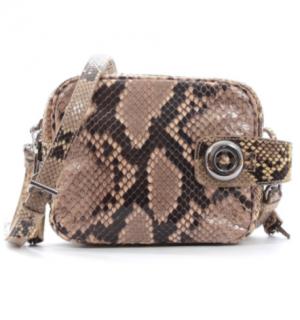 Prada natural python crossbody bag