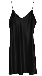 Maguy De Chadirac Black Little Black Slip Dress
