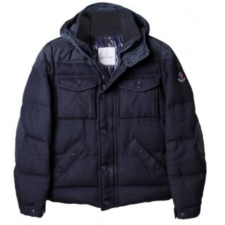 Moncler Blue Down Republique Coat