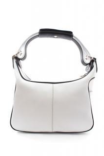 Tod's White Leather Shoulder Bag