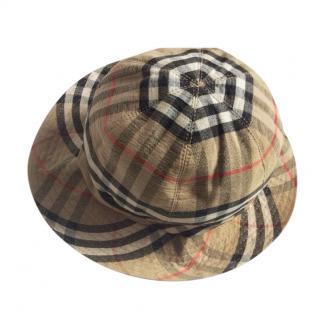 Burberry House Check Vintage Kids Hat