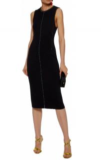 Christopher Kane Bead-embellished stretch-knit dress