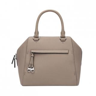 Tory Burch French Gray Gemini Link Tote